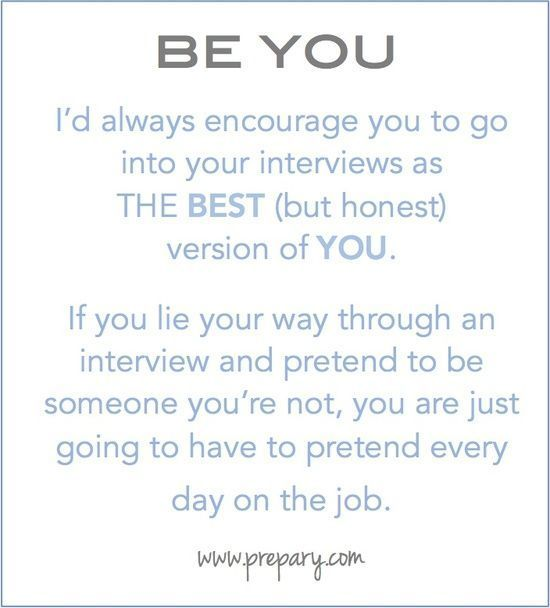 The best interview advice to give