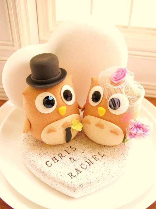 Wedding cake topper... I wish!