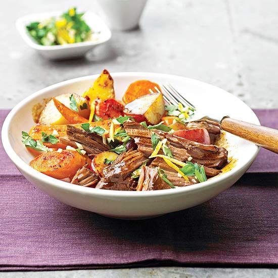 Herb-Garlic Beef Roast