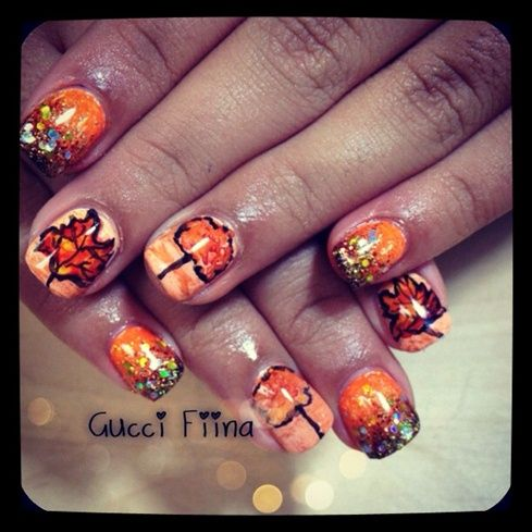 fall - Nail Art Gallery by NAILS Magazine
