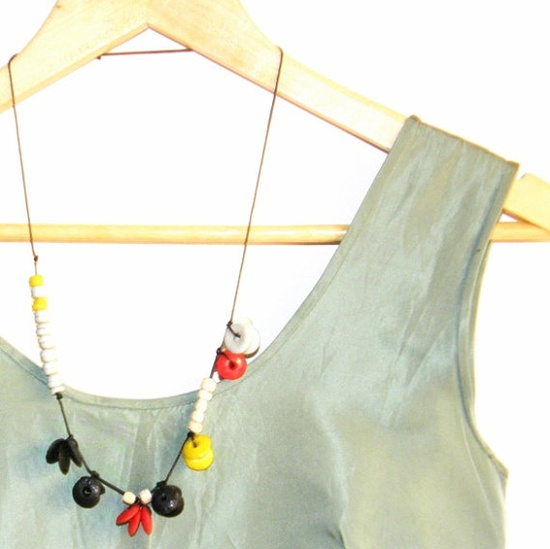 Sweet simple & colorful jewelry item by thecityfolklore on Etsy, €15.00
