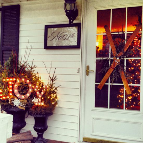Christmas decorations for porch lifeonbriarwooddr...