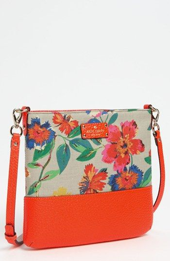kate spade new york 'grove court -  floral' crossbody bag available at Nordstrom
