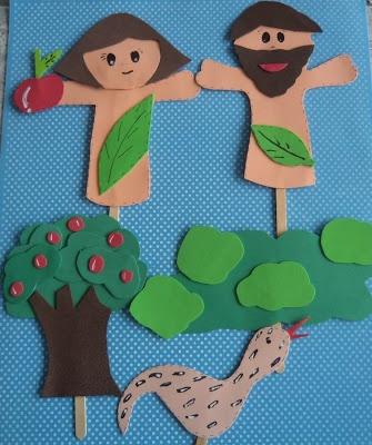PALITOCHES DE ADÃO E EVA