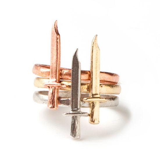 Dagger Rings