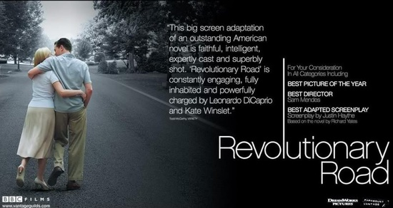 Revolutionary road (Sam Mendes, 2008).