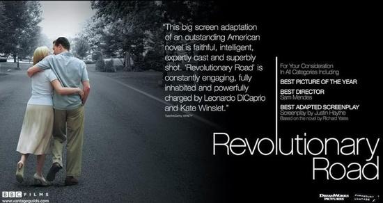 Revolutionary road (Sam Mendes, 2008).