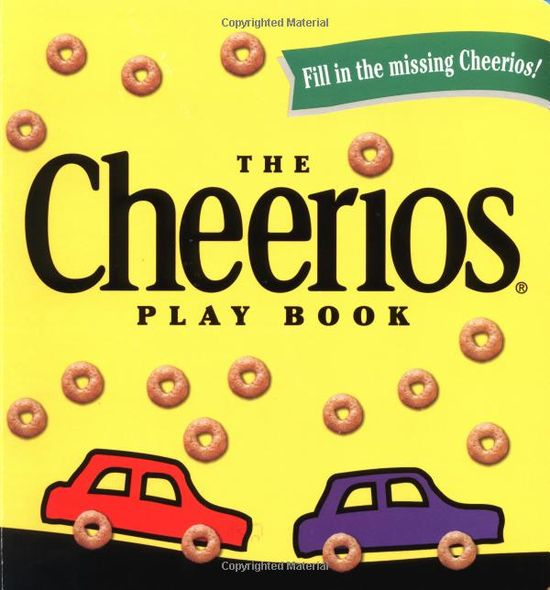 The Cheerios Play Book by  Lee Wade: Tasty interactive fun! #Books #Kids #Cheerios #Fine_Motor_Skills