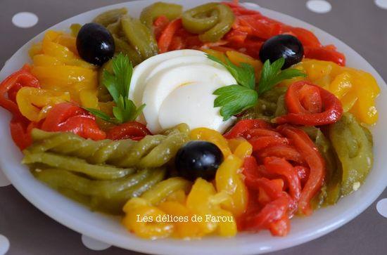 Salades de poivrons
