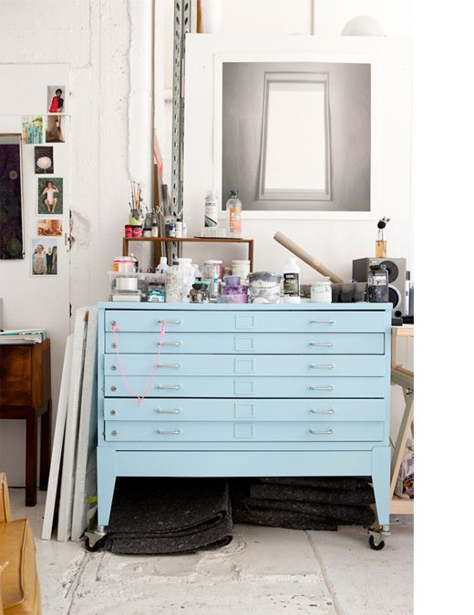 YESSSSS > I would really like to find a flat file cabinet for my art that is as perfect as this one