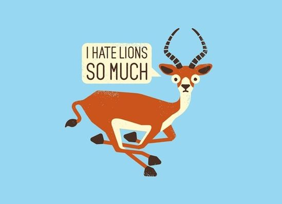 Funny Illustrations: If Animals and Objects Could Talk