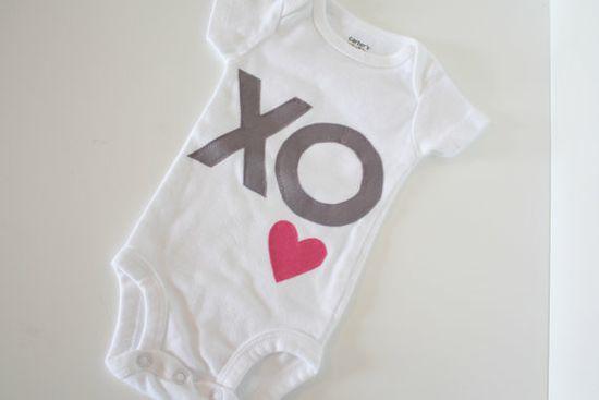 Hugs & Kisses Onesie Bodysuit  Baby Girl by shophopehandmade, $12.00