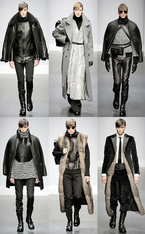 Winter men's fashion 2013