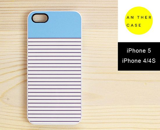pastel blue iphone 5 case, iphone 4 case from www.another-case.com