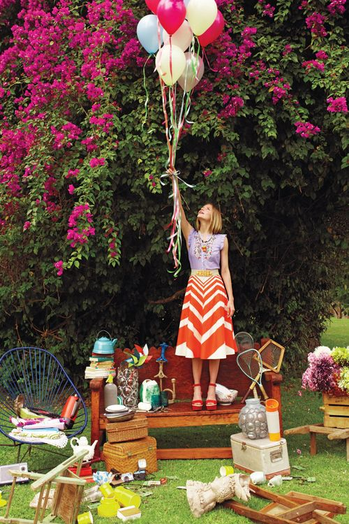 We want to picnic with Anthropologie!