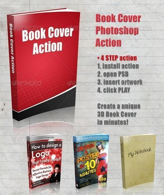 3D Book Cover Action  -