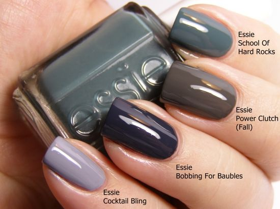 essie colors for winter... love these!!!
