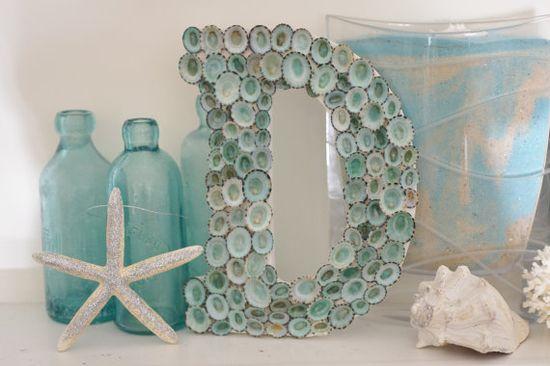 Beach Cottage Seashell Decor~