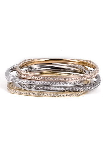 Nadri Pave Crystal Square Bangle