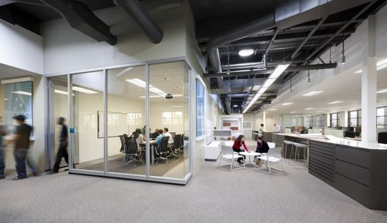 ARCHITECTURE FIRM OFFICES! LPA's sustainable office, Irvine - California