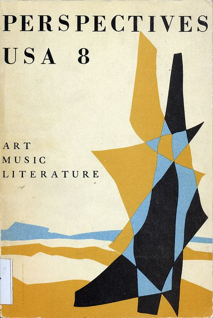 Perspectives #8 cover by Mirmont with typography by Alvin Lustig by Scott Lindberg, via Flickr