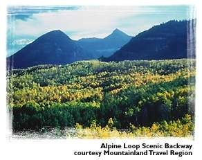 Alpine Loop Scenic Backway. We just did this drive last fall and I'm itching to go back.