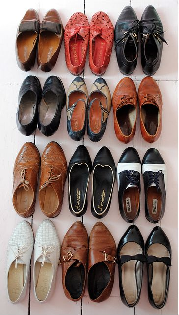 Vintage Shoe Collection, need to start my own! I want all of these!