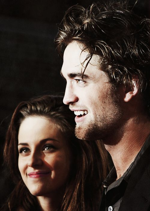 """""""Kristen and I have lived a great adventure together with the Twilight films.When I met her there was instant chemistry. She brought something out of me that I can't even explain."""""""