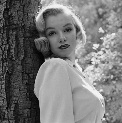24 years old Marilyn Monroe