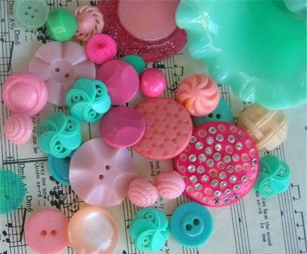 Pretty buttons and music