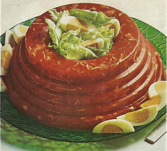 Tomato-Crab Aspic (Better Homes and Gardens Calorie Counters Cookbook, 1970)