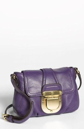 Perfect for a night out! Michael Kors Small Purple Crossbody
