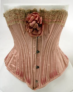 french silk corset