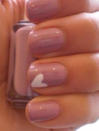 Sweet Heart Nails