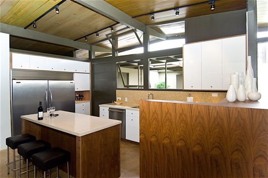 c. 1950s mid century modern house designed by Clifford Yates.