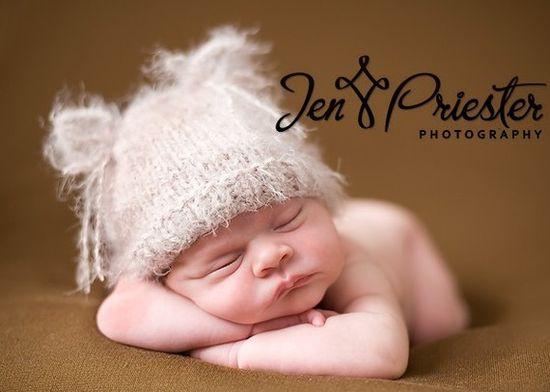 newborn kitten hat