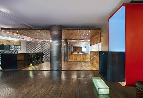 Red Bull offices by Johnson Chou, Toronto