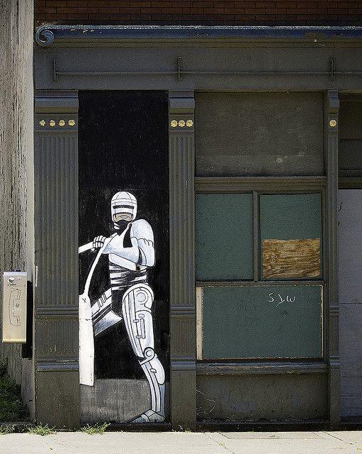 RIP OTR Robocop #art