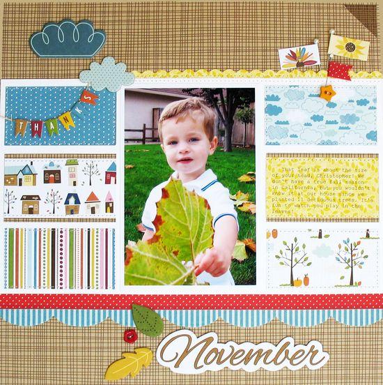 November - Bella Blvd. - Scrapbook.com