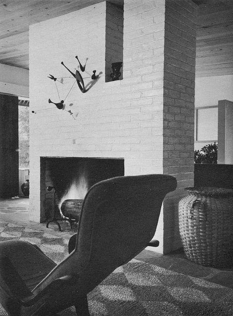 Architect Marcel Breuer, photographer Robert Damora 1961