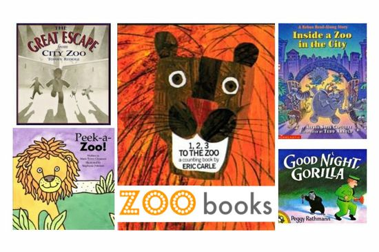 Books for the zoo, museum, etc