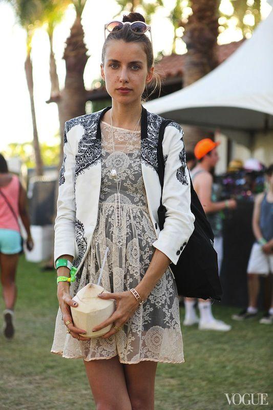 lace dress // coachella style roundup