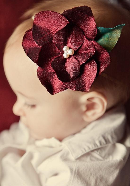 Silk Flower Headband, Handmade Gifts for Kids