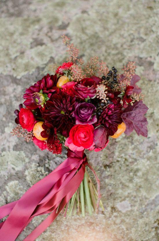 Romantic Fall wedding inspiration