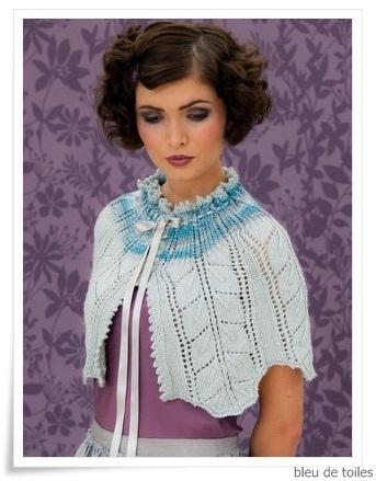 Knitted shawl - Louisa Harding