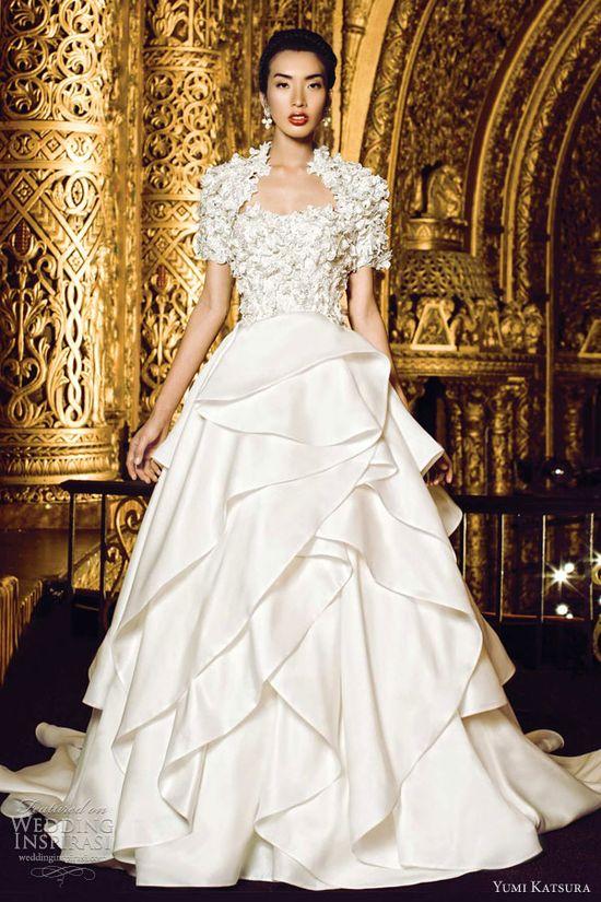 yumi katsura bridal 2013 kyoto wedding dress