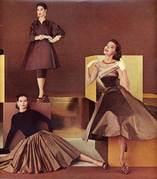 Brown Fashion, 1950's