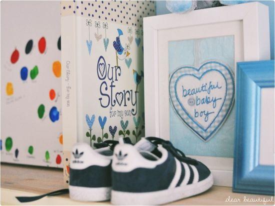 Baby boy memories nursery
