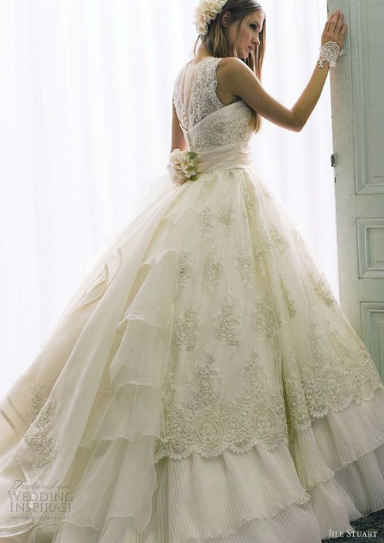 jill stuart bridal 2013 romantic wedding dress style 0131