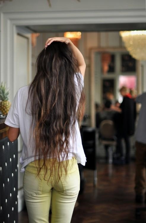 long pretty hair